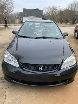 2004 Honda Civic two door coupe for Sale in Greenville, SC