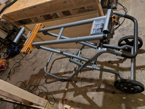 Miter saw stand - Like New for Sale in Traverse City, MI