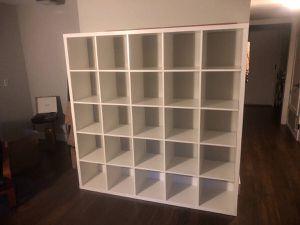 6 ft x 6 ft white shelves for Sale in Stockton, CA
