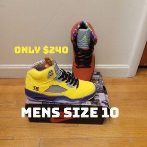 "Jordan 5s ""What The"" (Mens Size 10) for Sale in Alexandria, VA"