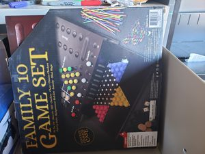 Family 10 in 1 game set for Sale in Westminster, CO