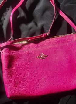 Cross Body Coach Purse - Pink for Sale in Tacoma,  WA