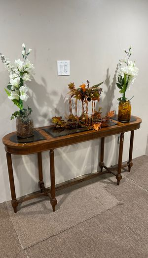 Wooden and glass coffee table for Sale in Wantagh, NY