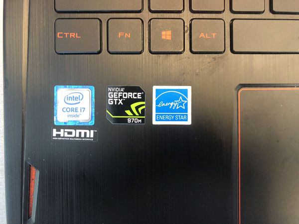 "ASUS ROG 15.6"" 2.5ghz- refurbished- i7 brand new 1TB hardrive"