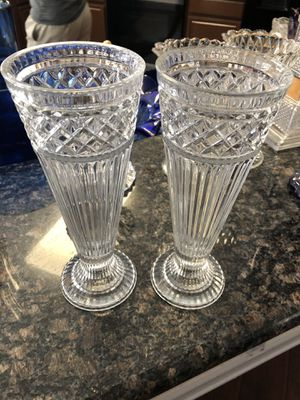 Crystal vases for Sale in Dallas, TX