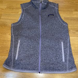 Patagonia Better Sweater Medium Purple Vest for Sale in Portland, OR
