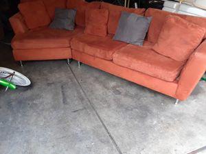 sala muy comoda color naranja for Sale in Chula Vista, CA