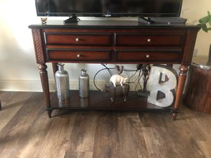 Console table/ tv stand for Sale in Stoughton, MA