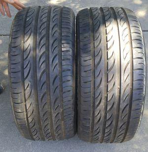 245/40/18 Pirelli zero nero for Sale in Green Bay, WI