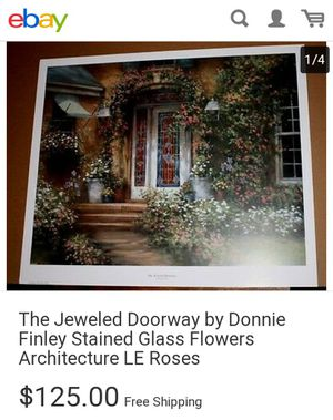 Donny Finley print w/ frame and matted for Sale in Dallas, TX