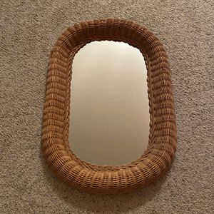‼️Wicker Mirror‼️ for Sale in Edgar, WI