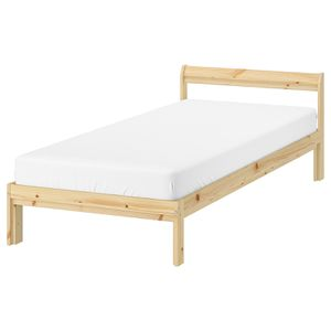 Twin Wood Bed Frame and Mattress for Sale in Daly City, CA