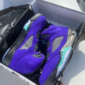 Jordan 5 Purple Grape Size 10.5 for Sale in Helotes, TX