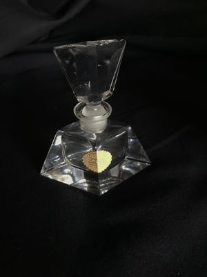 Antique Posselt-Crystal bottle of perfume - Handmade Flacons - Made in Germany for Sale in Seattle, WA