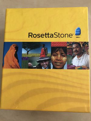 Rosetta Stone (French) for Sale in Stoneham, MA