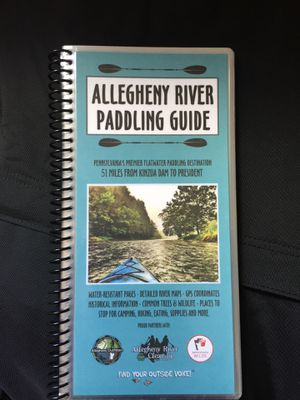 Allegheny River Paddling Guide for Sale in Pittsburgh, PA