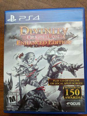 Divinity Original Sin Enhanced Edition PS4 for Sale in Tavares, FL