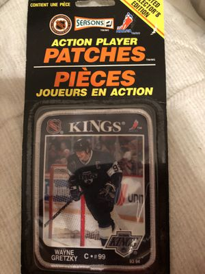 LA Kings Wayne Gretzky limited edition Patch from 1993-94 season. Still sealed in original packaging for Sale in Mesa, AZ