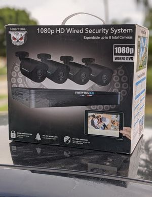 4 camera security system for Sale in Minneola, FL