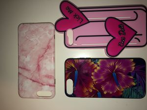 iPhone Plus cases 8/6/7 for Sale in Los Angeles, CA