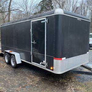 7x16 Enclosed Trailer for Sale in Dunellen, NJ
