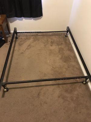 Metal Bed Frame - Full for Sale in Salt Lake City, UT