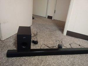 Soundbar+subwoofer for Sale in Bremerton, WA