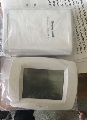 Honeywell programmable thermostat vision pro IAQ for Sale in Salt Lake City, UT