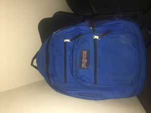Blue jansport backpack for Sale in Columbus, OH