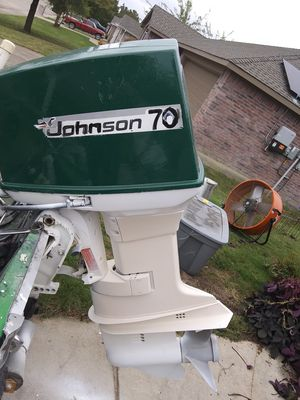 70hp Johnson motor for Sale in Wylie, TX