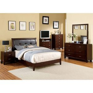 I have this nice queen bedrooms set in brown cherry 🍒 same as a picture on sale 🎈🎈🎈🎈🎈$899 for Sale in Fresno, CA