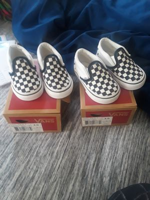 Classic slip on vans for Sale in Flint, MI
