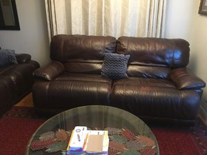 Sofa and loveseat (Leather) Recliners for Sale in Fremont, CA