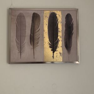 Rose Gold Feathered Frame for Sale in Hollywood, FL