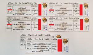 Blackhawks tickets vs Oilers 10/14 for Sale in Chicago, IL