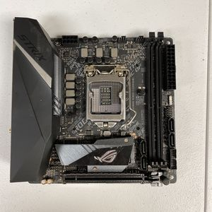 ASUS ROG STRIX B360-I GAMING LGA1151 (300 Series) DDR4 DP HDMI M.2 Mini-ITX Motherboard for Sale in Wilmington, OH