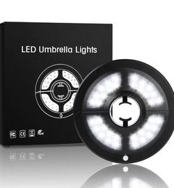 LIVE4COOL Patio Umbrella Light, 2 Brightness Modes Cordless 36 LED Lights at 220 for Sale in Escondido,  CA