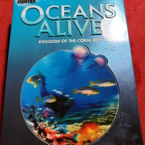 COLLECTOR'S EDITION 5 DVD SET OCEANS ALIVE Kingdom Of The Coral Reef. Great Condition for Sale in Woodside, CA