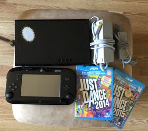 Nintendo Wii U wiiu video game console complete with games for Sale in Huntington Station, NY