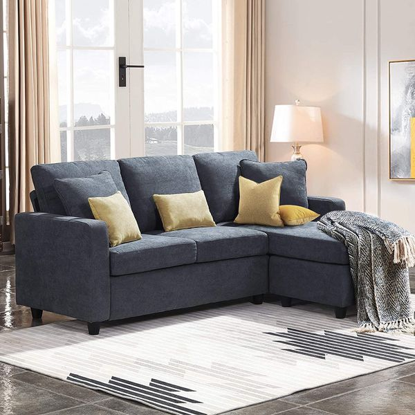 HONBAY Convertible Sectional Sofa (BRAND NEW)