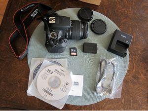 Canon EOS Rebel T5 / EOS 1200D 18.0MP Digital SLR Camera - Black (Kit w/ EF-S... for Sale in Arlington, VA