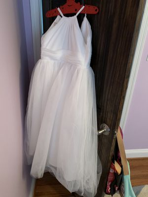 6/7t flower girl or first holy communion dress for Sale in Falls Church, VA