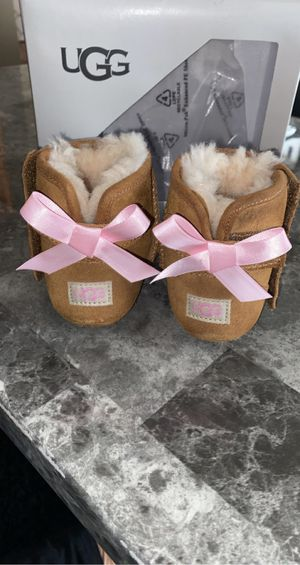 Ugg boots and MK shoes size 3 in infants for Sale in Kansas City, MO