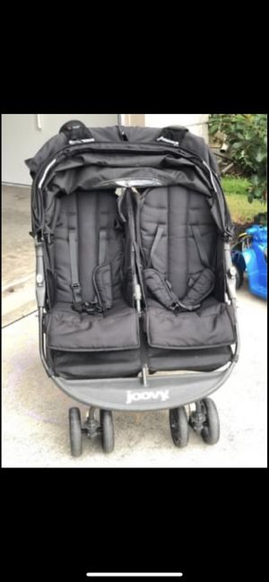 Joovy Scooter X2 Double Stroller, black for Sale in Houston, TX