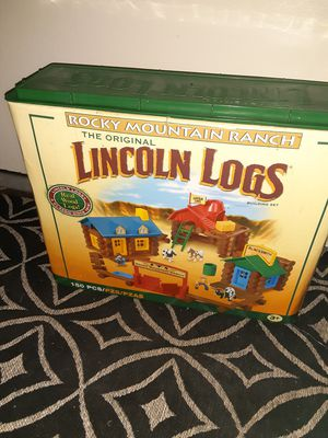 Lincoln logs for Sale in Los Angeles, CA