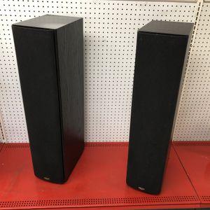 Klipsch Synergy SF-2 Black 100 Watt Tower Floor Standing Loud Speakers 10012903-2 for Sale in Tampa, FL