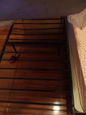 Twin metal bed for Sale in ROXBURY CROSSING, MA