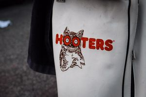 Limited edition Hooters leather golf bag for Sale in Raleigh, NC