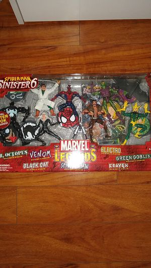 Marvel Legends Sinister 6 box set sealed! for Sale in San Antonio, TX