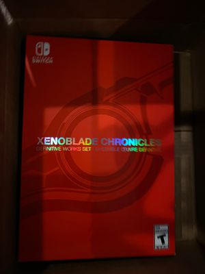 Xenoblade chronicles definitive works set edition for Nintendo switch for Sale in Los Angeles, CA